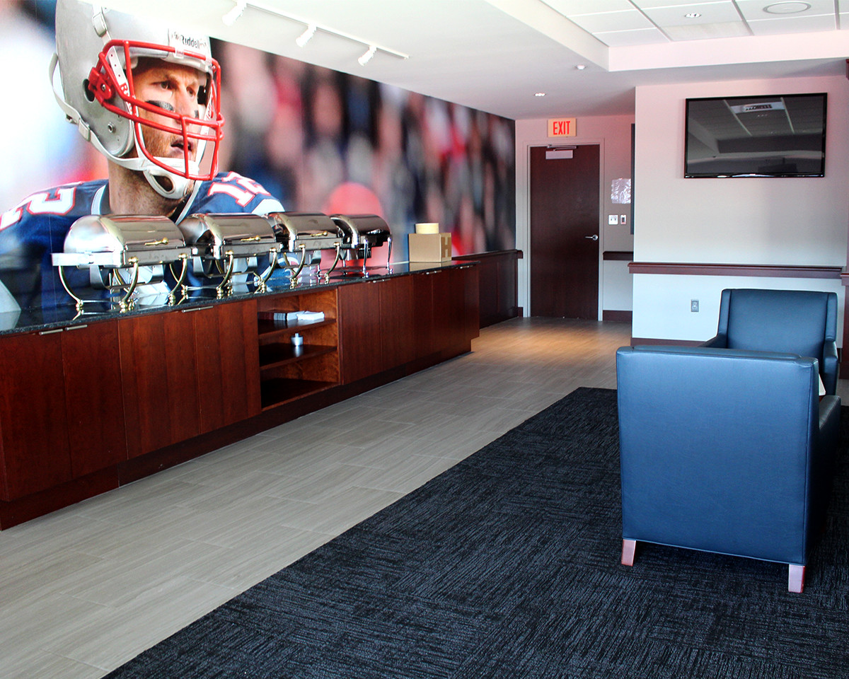 Gillette Stadium Corporate Suite Renovations Ruggieri